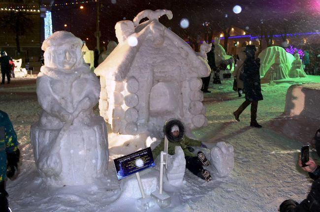В Буй уехал главный приз фестиваля ледовых скульптур, фото-2