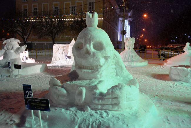 В Буй уехал главный приз фестиваля ледовых скульптур, фото-3
