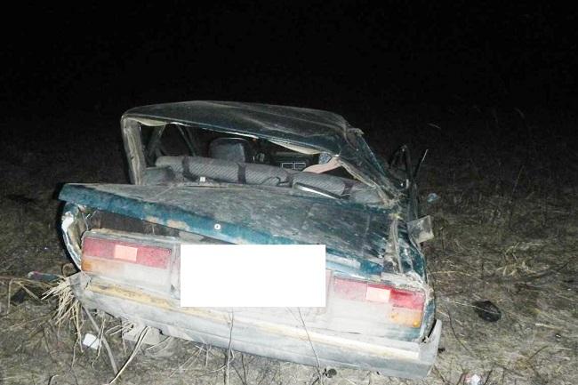 Под Костромой ночью водитель улетел в кювет , фото-1