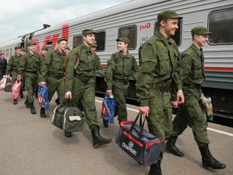 В РФ стартовала весенняя призывная кампания