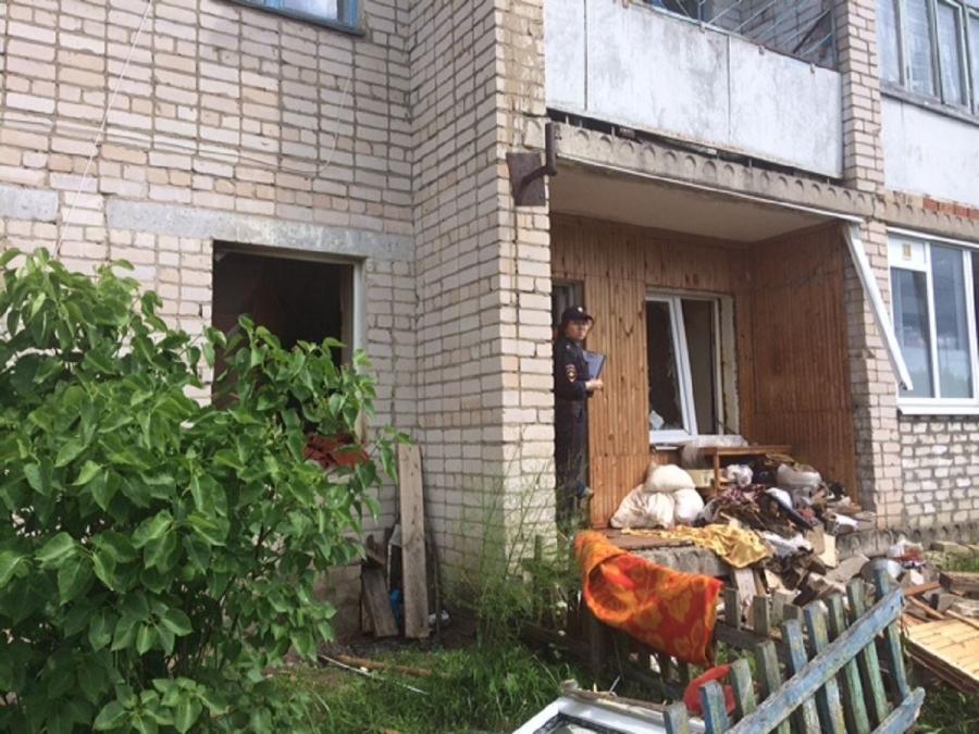 Под Костромой вмногоквартирном доме произошёл хлопок газа