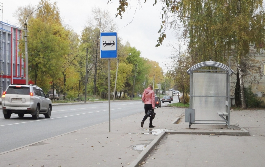 ВКостроме монтируют новые остановки— правда, не всюду