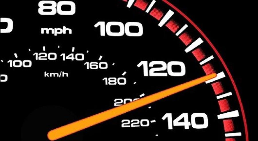 постепенно, штраф за превышение скорости на 44 км было добродушной