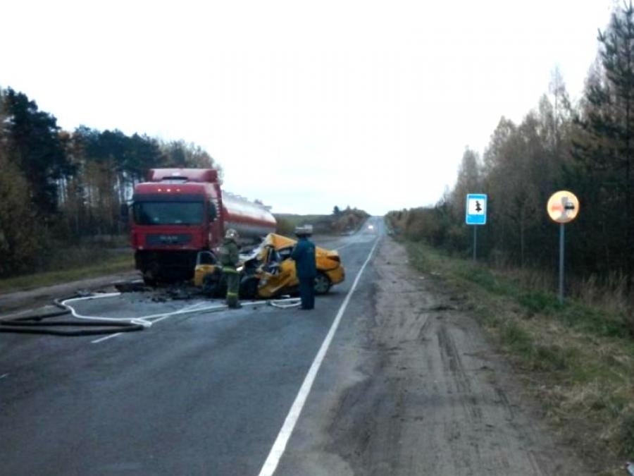 Сегодня вдорожной трагедии надороге Кострома— Верхнеспасское погибли три человека