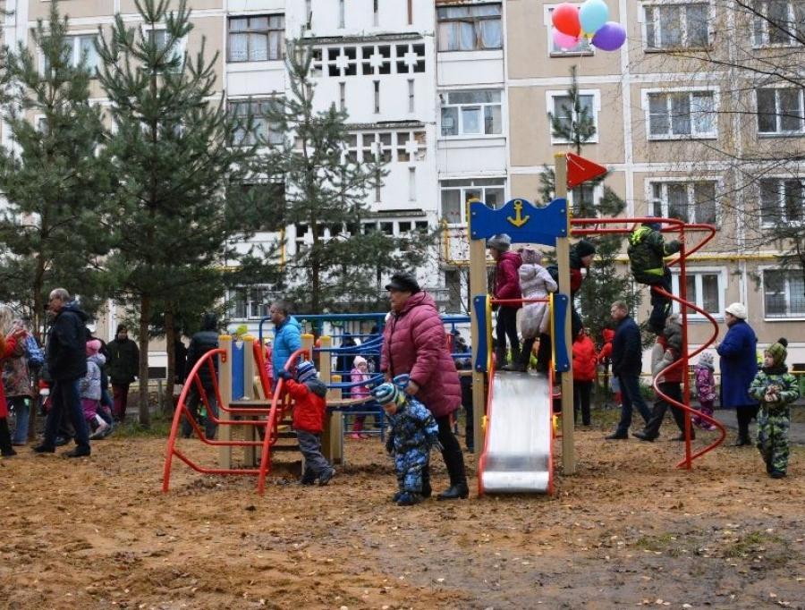 ВКостромской области завершены работы поблагоустройству дворов