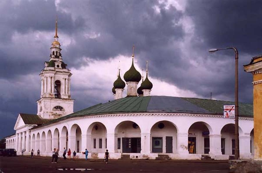 Благодаря туристам Кострома вошла втоп-10 попопулярности