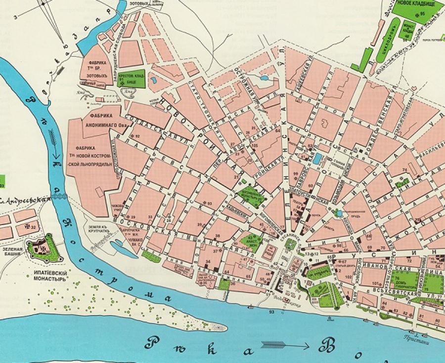электронная карта города