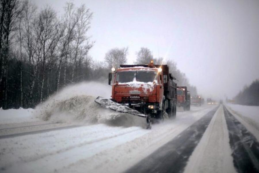 Дорожные службы Костромской области переведены наусиленный режим работы